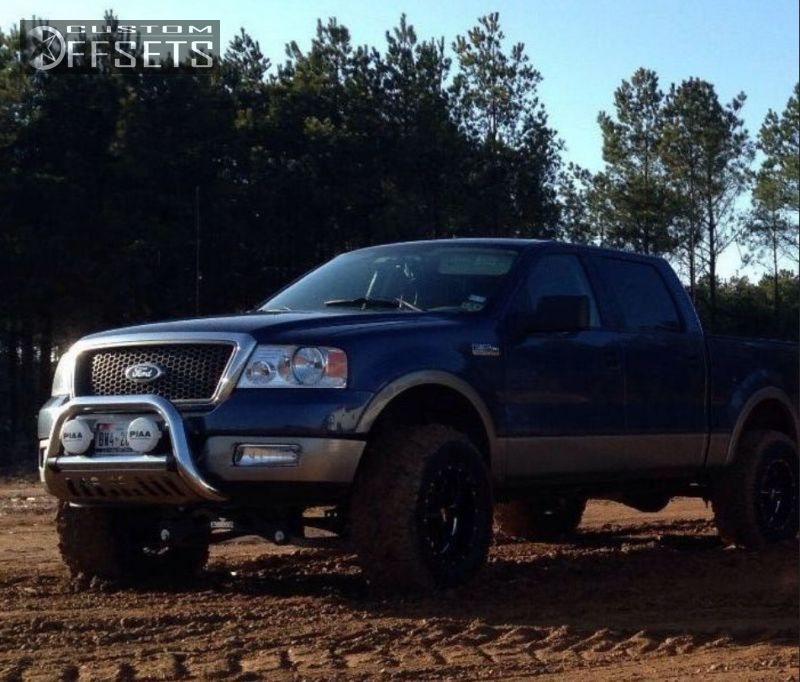 """Sell used 2005 Lifted Ford STX F150 F-150 35"""" Nitto & 20"""" KMC Blk ..."""