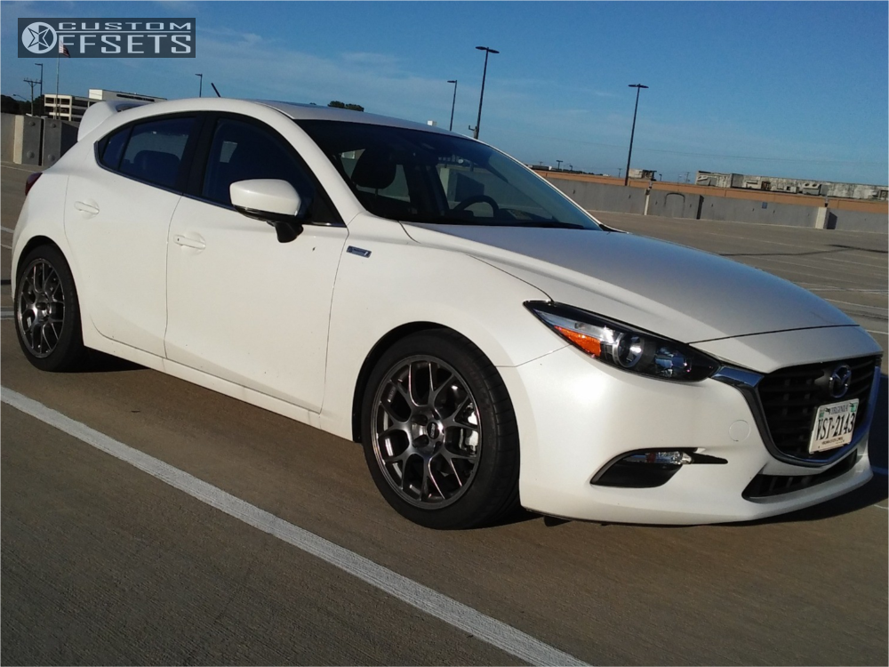 2017 Mazda 3 Sport Bbs Raceland Coilovers