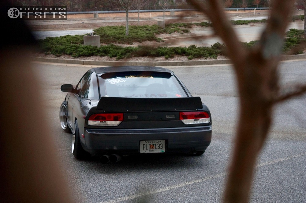 1990 Nissan 240sx Work Equip 01 Parts Shop Max Coilovers