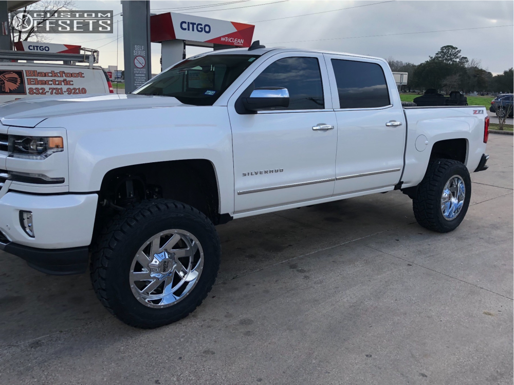 2017 Silverado Accessories >> 2017 Chevrolet Silverado 1500 Moto Metal Mo988 Zone Suspension Lift 65in