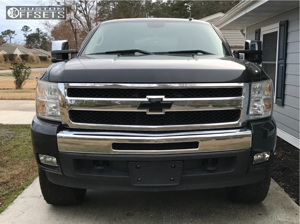 2 2009 Silverado 1500 Chevrolet Rough Country Leveling Kit Fuel Hostage Ii Black