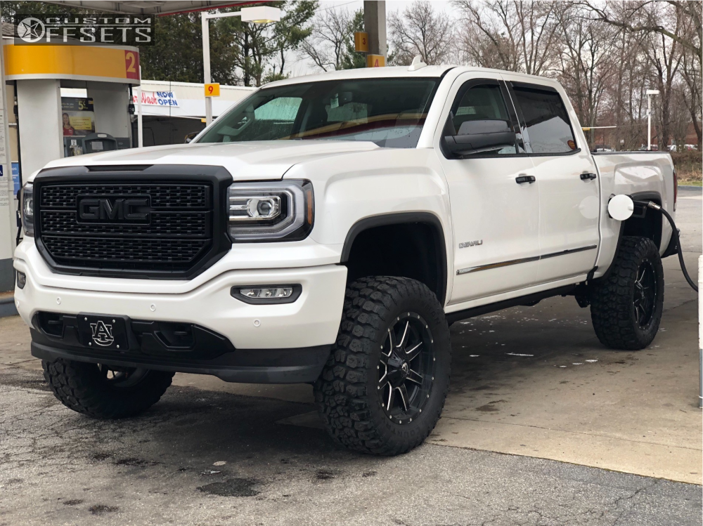2018 Gmc Sierra 1500 Fuel Maverick Fabtech Suspension Lift 6in