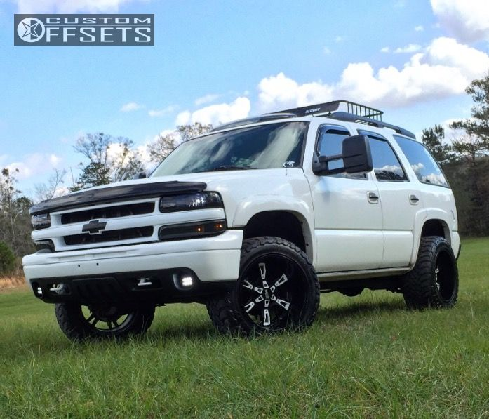 1 2001 Tahoe Chevrolet Leveling Kit Moto Metal Mo969 Black Super Aggressive 3