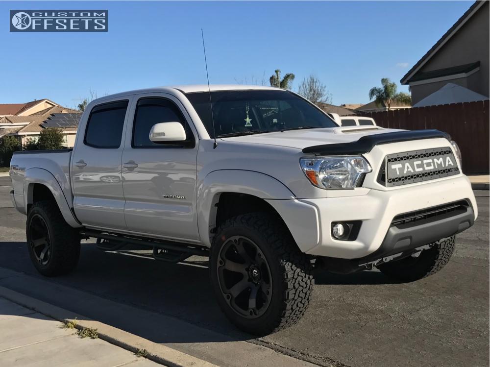 Bfgoodrich All Terrain >> 2015 Toyota Tacoma Fuel Beast Bilstein Leveling Kit