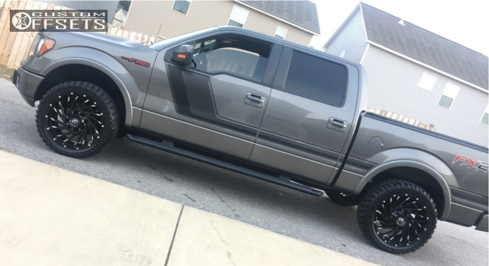 Xf Offroad Wheels >> 2014 Ford F 150 Xf Offroad Xf 209 Stock Leveling Kit