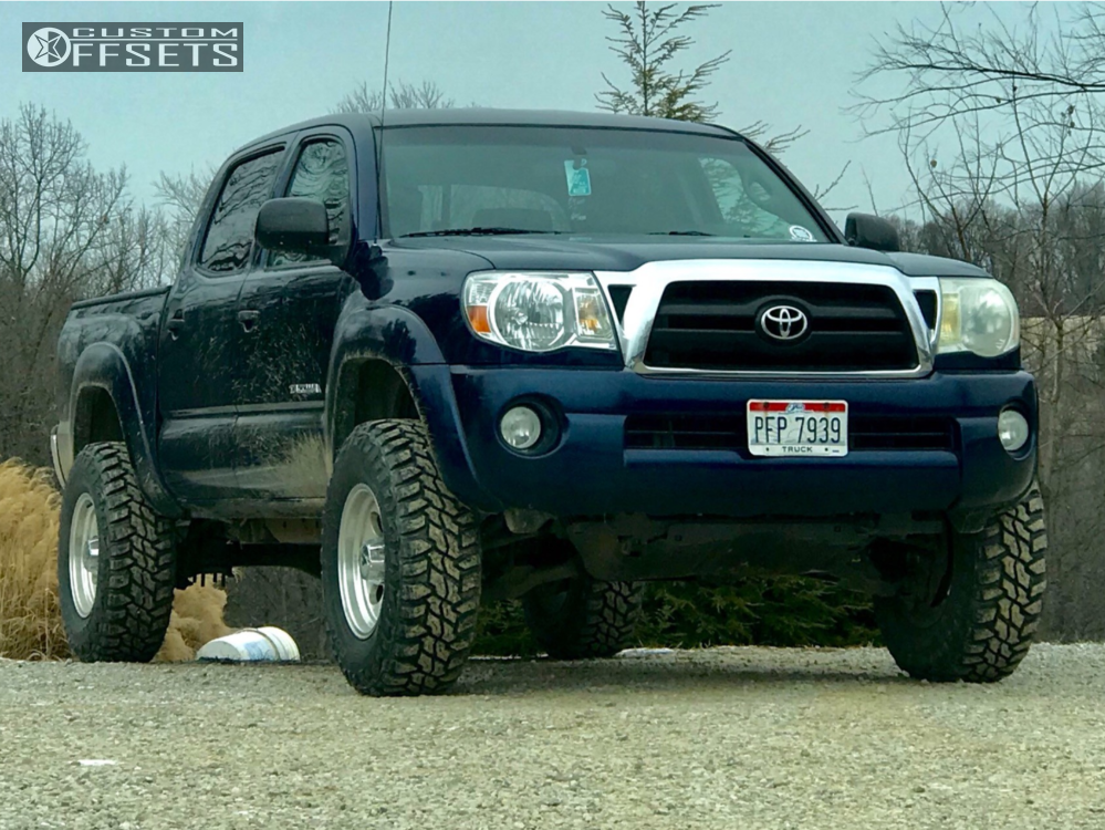 1 2006 Tacoma Toyota Supreme Suspension Lift 3in Ion Alloy Style 183 Polished