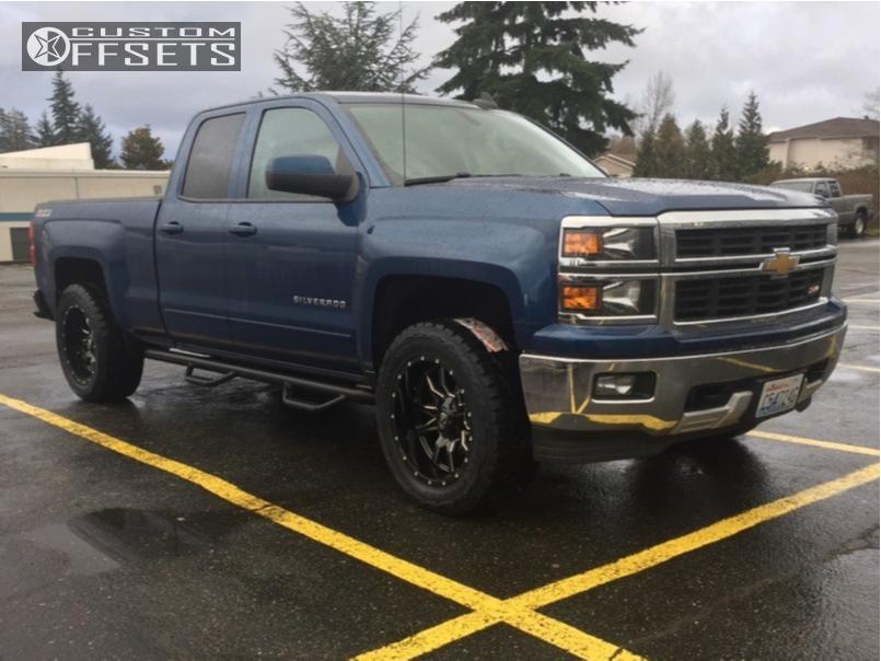 2015 Chevrolet Silverado 1500 Fuel Vandal Rough Country ...