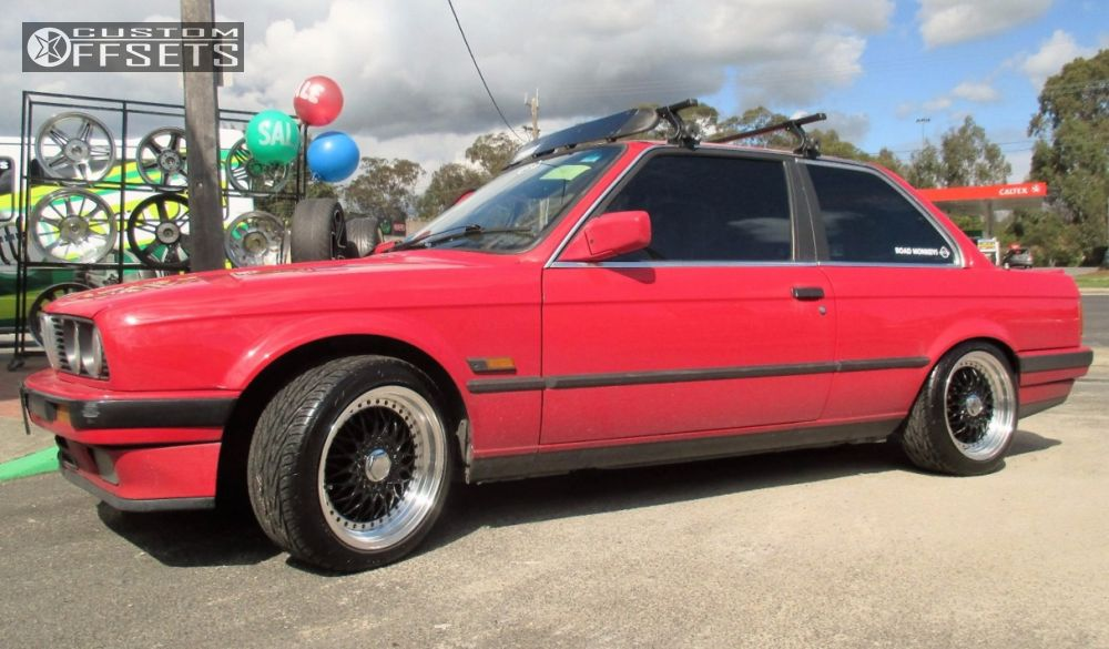 1987 Bmw 325i Replica Rs Lowered On Springs