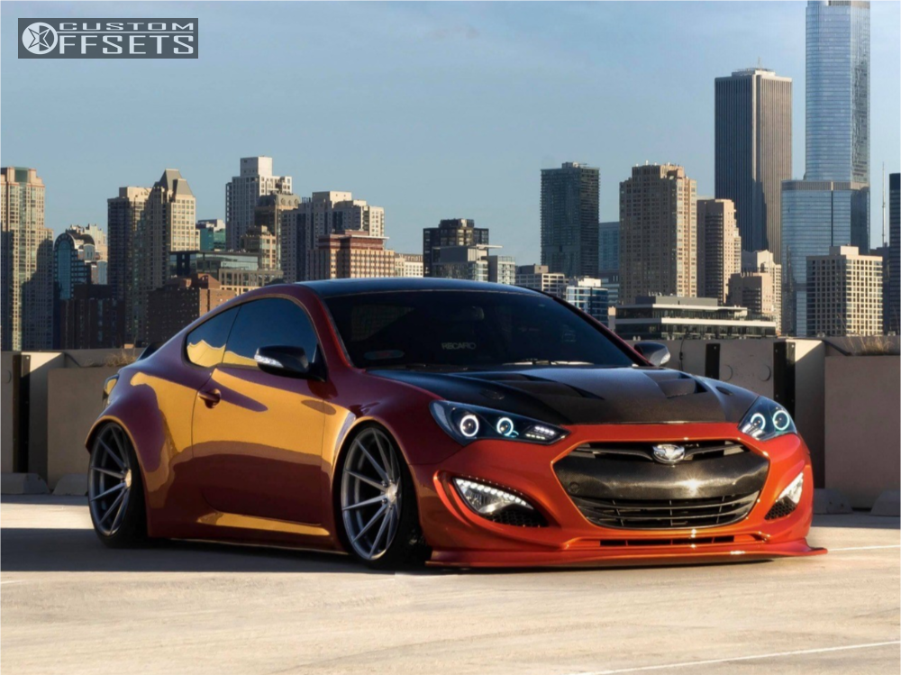 2016 hyundai genesis coupe rohana rf1 air lift performance air suspension. Black Bedroom Furniture Sets. Home Design Ideas