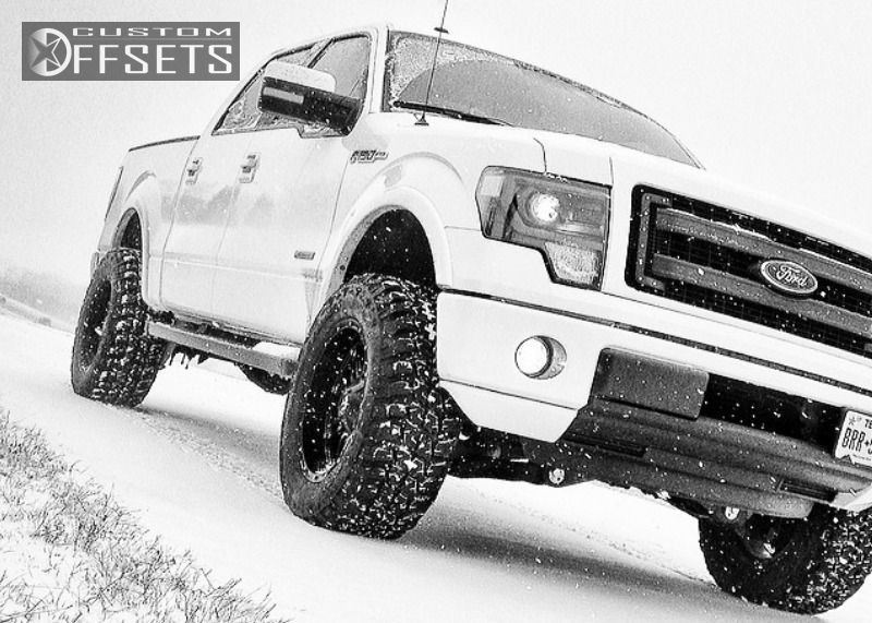 2013 ford f 150 fuel hostage pro comp suspension lift 6in. Black Bedroom Furniture Sets. Home Design Ideas