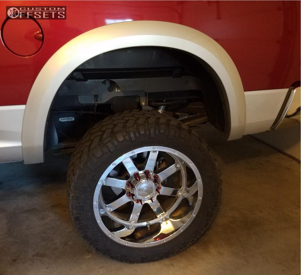 10 2013 Ram 2500 Dodge Bds Suspension Lift 6in Gear Alloy 726c Chrome