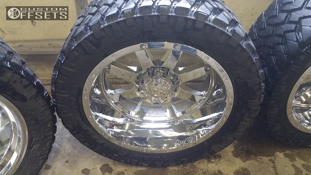 12 2013 Ram 2500 Dodge Bds Suspension Lift 6in Gear Alloy 726c Chrome