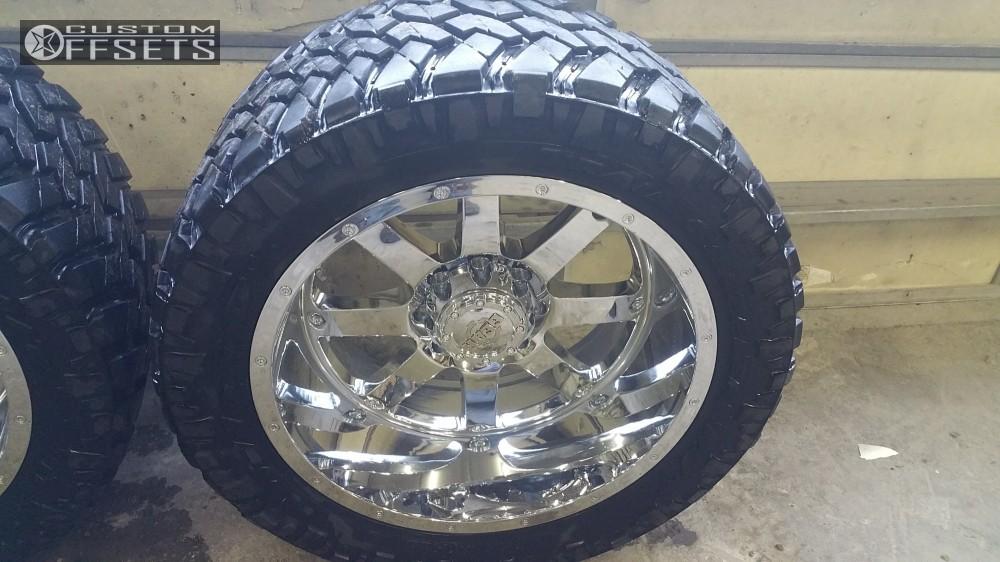 15 2013 Ram 2500 Dodge Bds Suspension Lift 6in Gear Alloy 726c Chrome