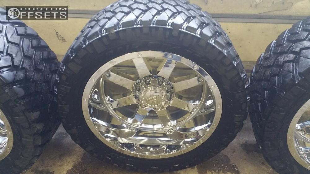 16 2013 Ram 2500 Dodge Bds Suspension Lift 6in Gear Alloy 726c Chrome