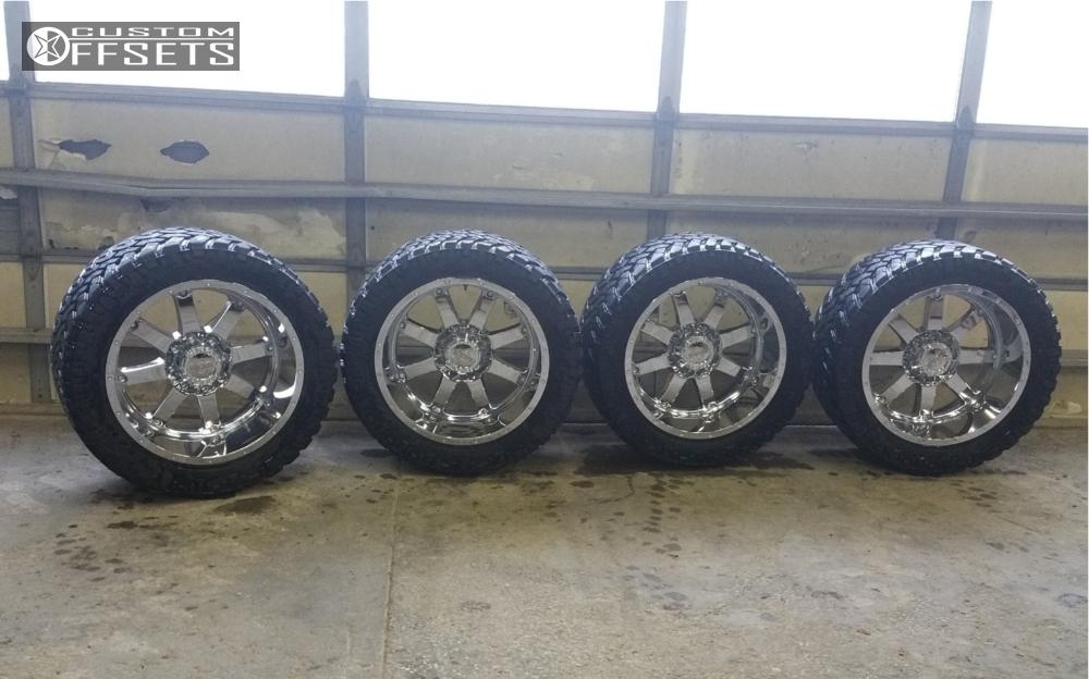 2 2013 Ram 2500 Dodge Bds Suspension Lift 6in Gear Alloy 726c Chrome