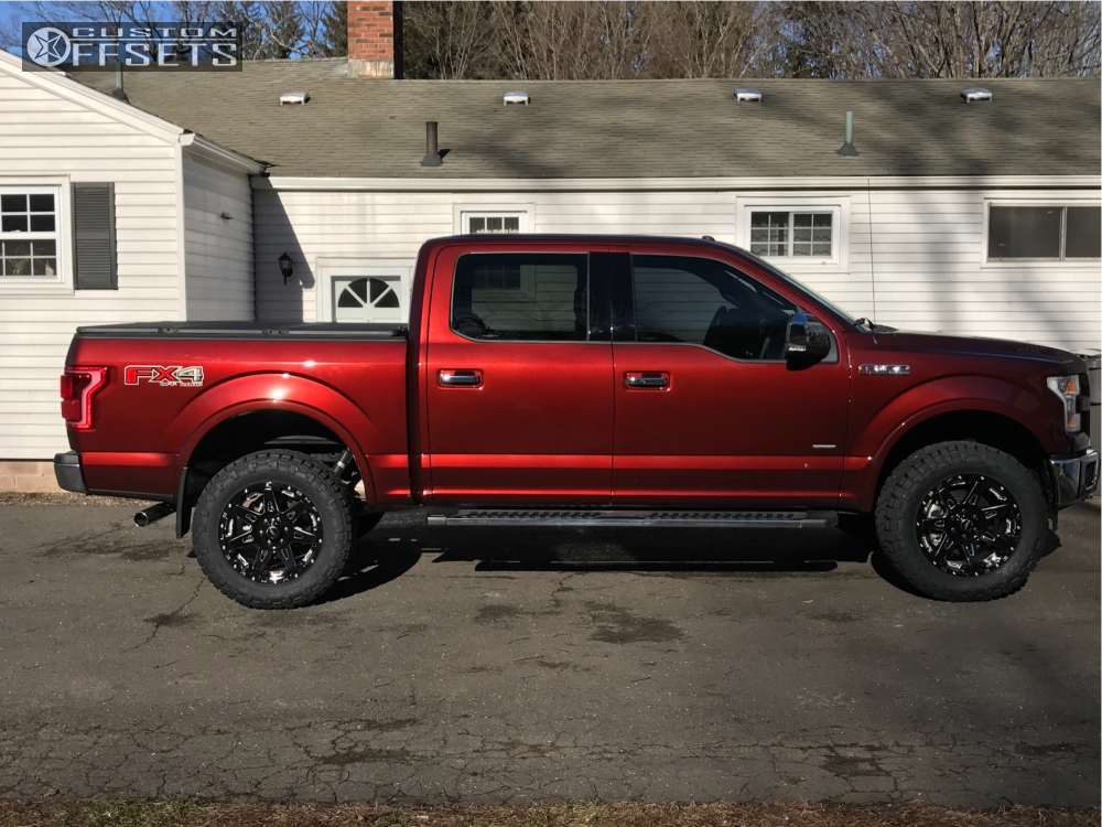 1 2016 F 150 Ford Halo Lift Suspension Lift 3in Bmf Battle Machined Accents
