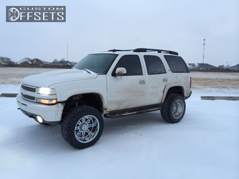 1 2006 Tahoe Chevrolet Suspension Lift 6 Ion Alloy 183 Chrome Aggressive 1 Outside Fender