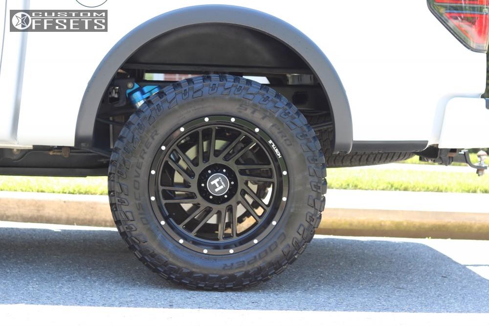 6 2013 F 150 Ford King Off Road Suspension Lift 25in Hostile Stryker Black