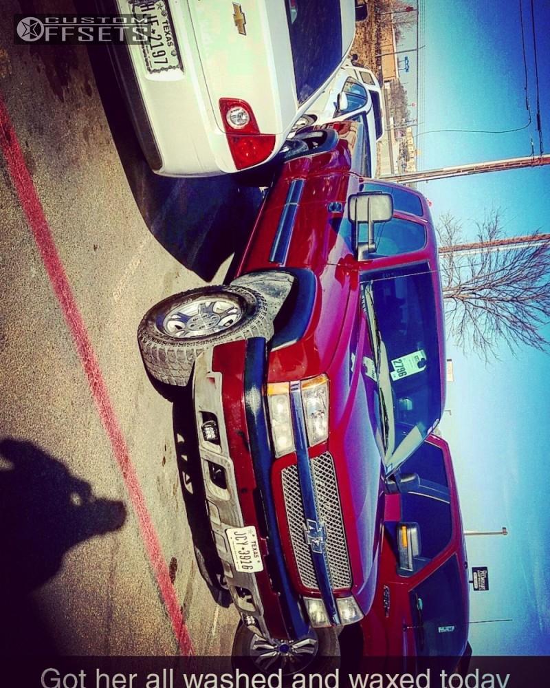 1 2003 Silverado 1500 Chevrolet Rough Country Suspension Lift 6in Vision Rocker Black
