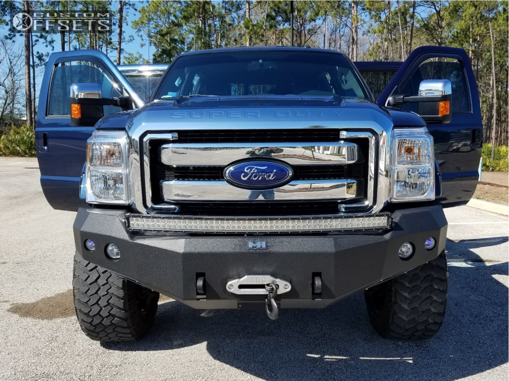 3 2016 F 350 Super Duty Ford Pro Comp Suspension Lift 6in Cali Offroad Busted Black