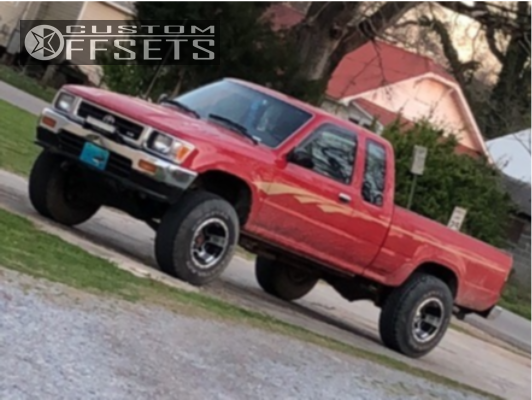 1 1993 Pickup Toyota Stock Stock Ultra Mongoose Machined Accents