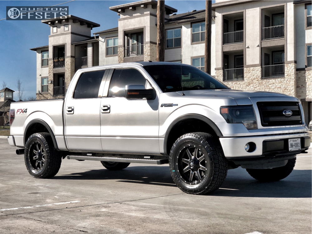 9 2013 F 150 Ford Bilstein Leveling Kit Fuel Maverick D610 Machined Black