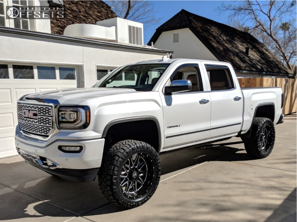 2018 Gmc Sierra 1500 Hostile Blaze Bds Suspension