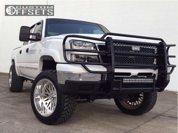 1 2006 1500 Chevrolet Pro Comp Suspension Lift 6in American Force Trax Ss Chrome
