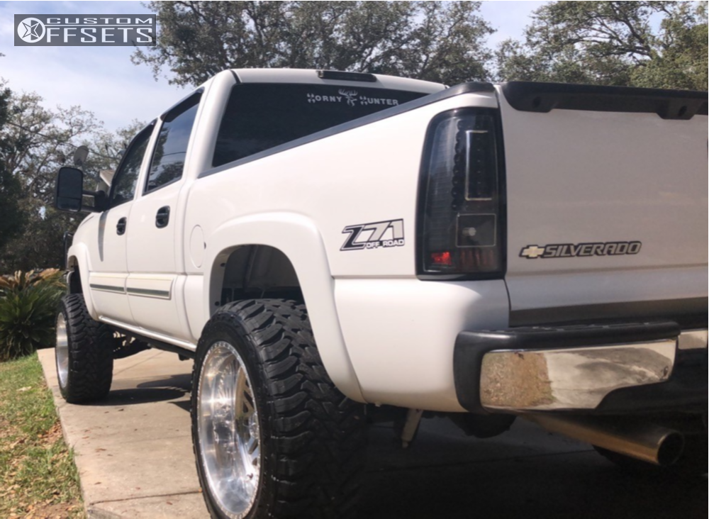 3 2006 1500 Chevrolet Pro Comp Suspension Lift 6in American Force Trax Ss Chrome