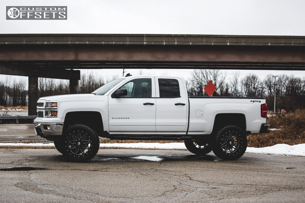 Xf Offroad Wheels >> 2015 Chevrolet Silverado 1500 Xf Offroad Xf 211 Rough Country Suspension Lift 7in Offsets Garage