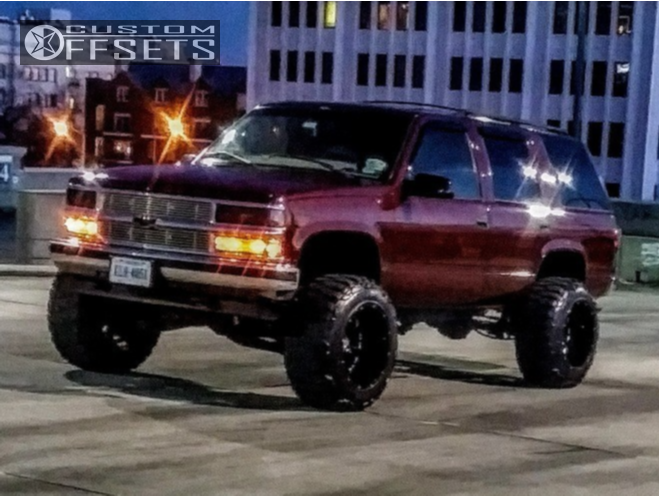 1998 Chevrolet Tahoe Xd Buck Fabtech Suspension Lift 6in Custom Offsets