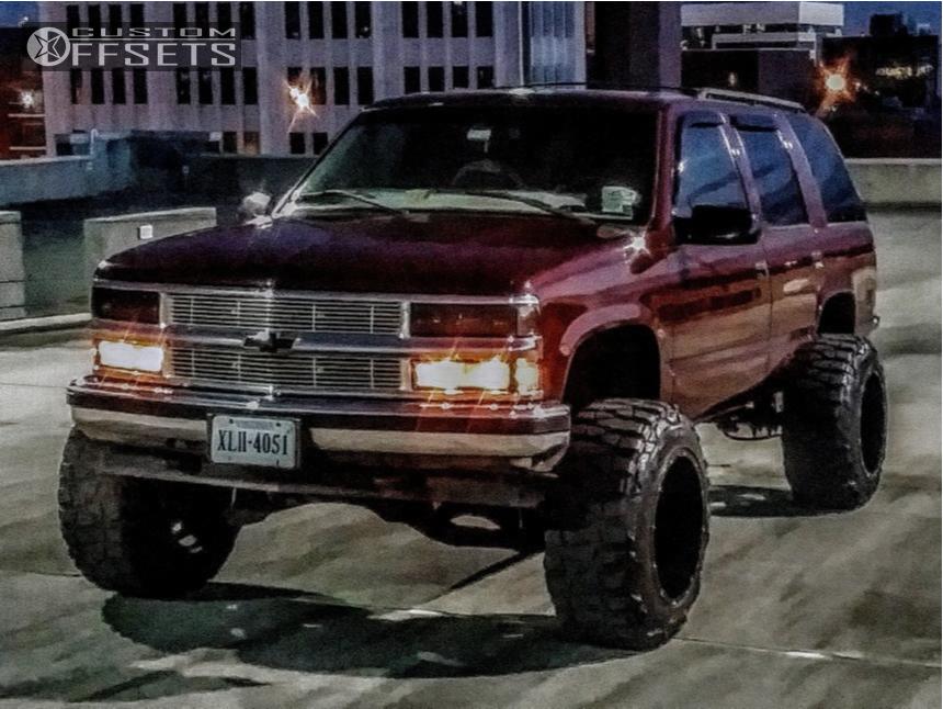 1998 Chevrolet Tahoe Xd Buck Fabtech Suspension Lift 6in