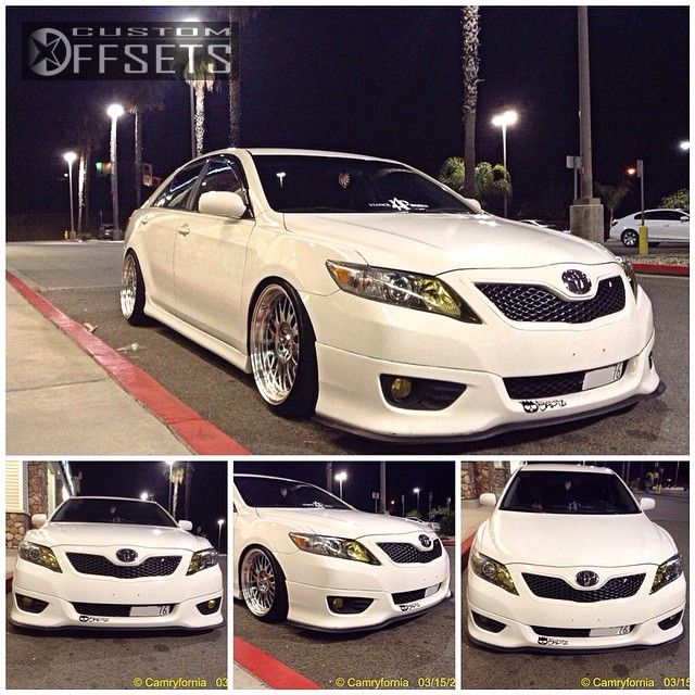 Wheel Offset 2011 Toyota Camry Flush Dropped 3 Custom Rims