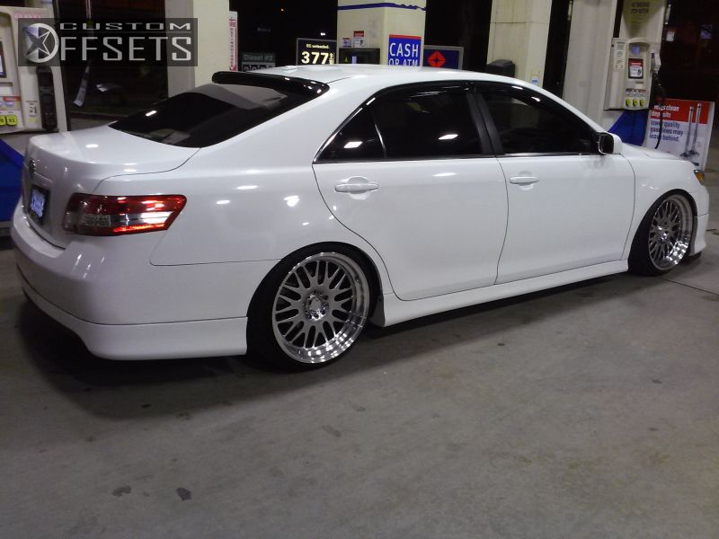 2011 toyota camry xxr 531 lowered adj coil overs offsets. Black Bedroom Furniture Sets. Home Design Ideas