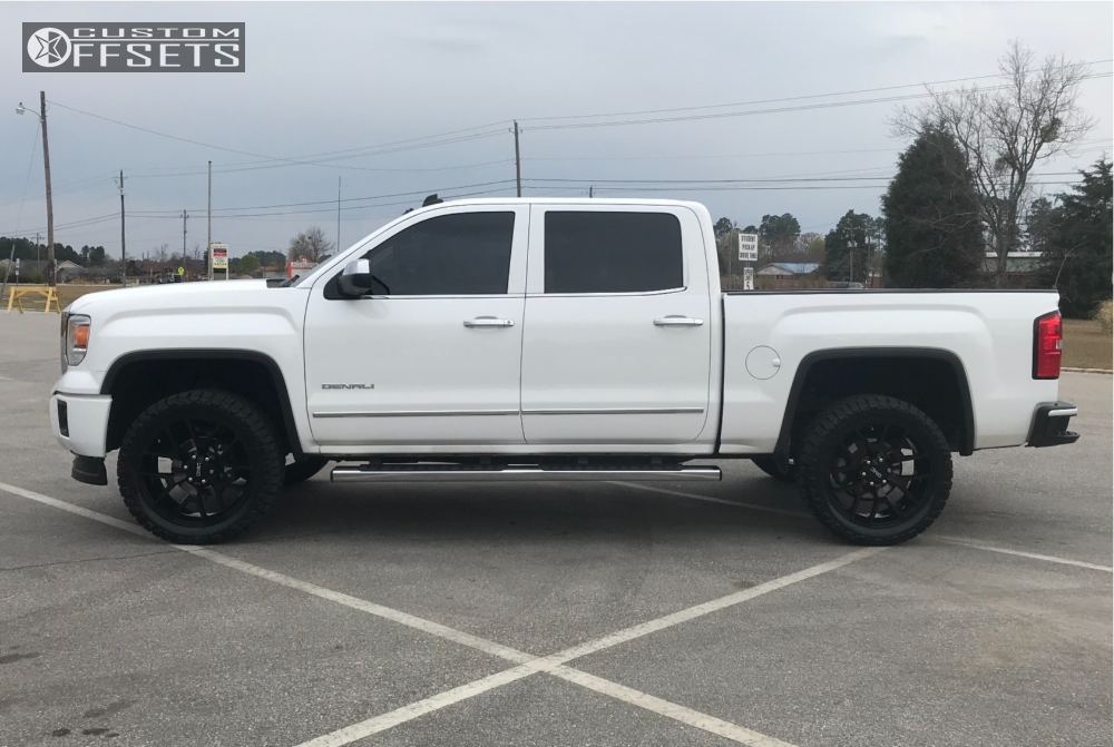 2014 gmc sierra 1500 oe performance 150 rough country leveling kit. Black Bedroom Furniture Sets. Home Design Ideas