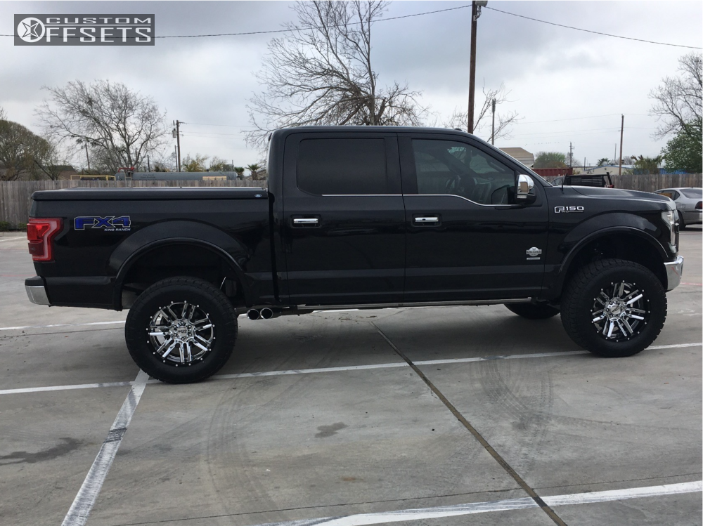 2016 Ford F 150 Moto Metal Mo202 Superlift Suspension Lift