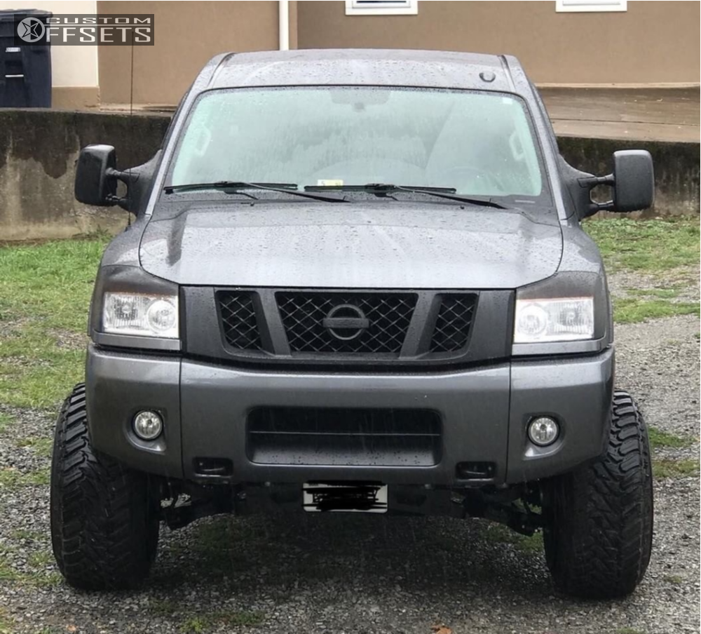 Nissan Titan Wheel Spacers 6x5 5 1 Inch 6 Runwheel Qx4 Offroad New G 2015 American Truxx The Bomb Rough Country Suspension Lift 4in