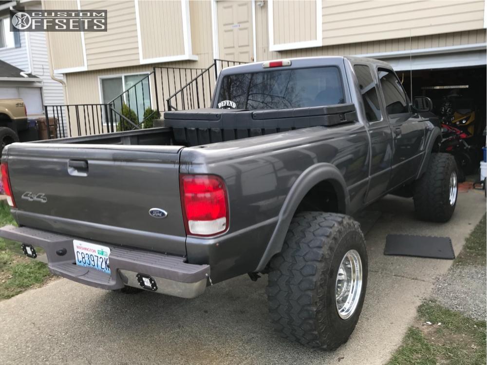 Ford ranger bullet hole rims