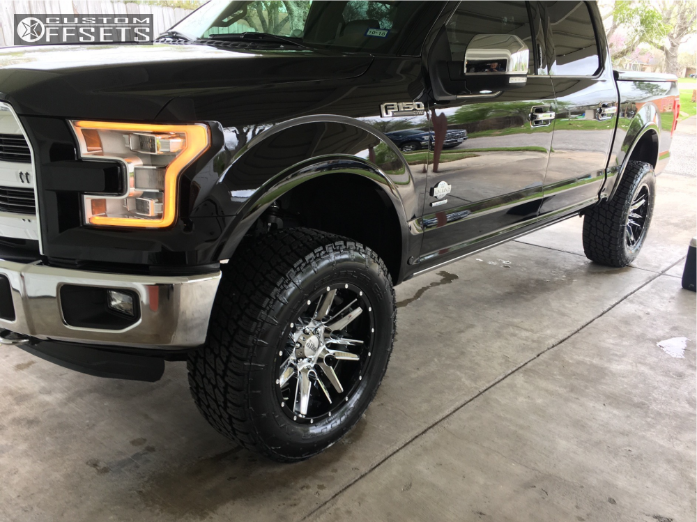 2016 ford f 150 moto metal mo202 superlift suspension lift for Suspension decorative