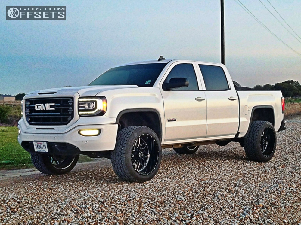 Sierra 1500 Pricing together with 20 22 2015 GMC Sierra OEM wheels and tires additionally Watch as well 2015 Gmc Sierra 1500 Fuel Maverick D537 Bds Suspension Suspension Lift 6in together with 2017 Gmc Sierra 2500 Hd Xd Monster Zone Suspension Lift 35in. on gmc sierra 6 5 in lift