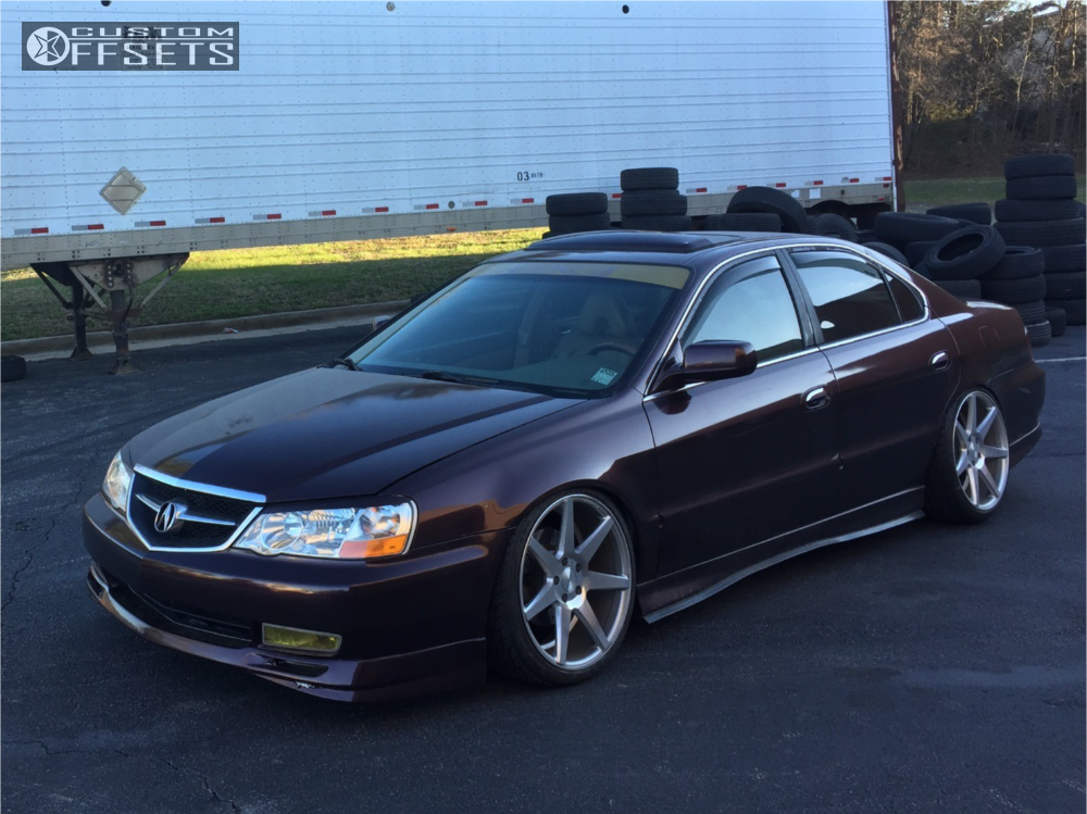 2003 acura tl vossen cv7 function and form coilovers rh customwheeloffset com Acura TL Manual Transmission 2010 Acura TL Dash Lights