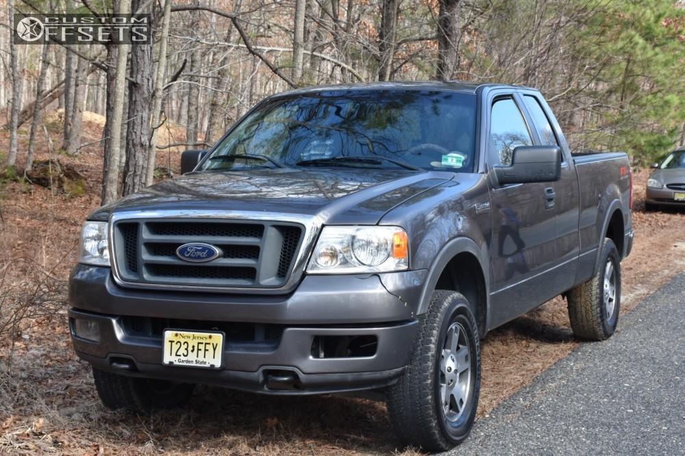 1 2005 F 150 Ford Rough Country Leveling Kit Hostile Sprocket Black