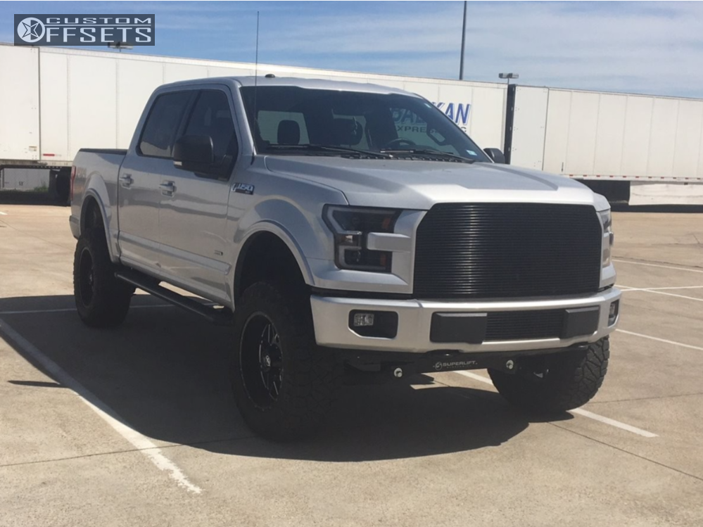 Xf Offroad Wheels >> 2017 Ford F 150 Xf Offroad Xf 211 Superlift Suspension Lift 6in