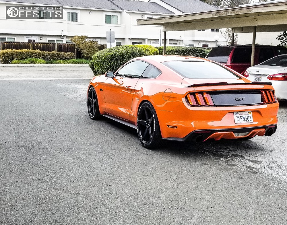 2016 Ford Mustang Niche Carini Ford Racing Performance Parts
