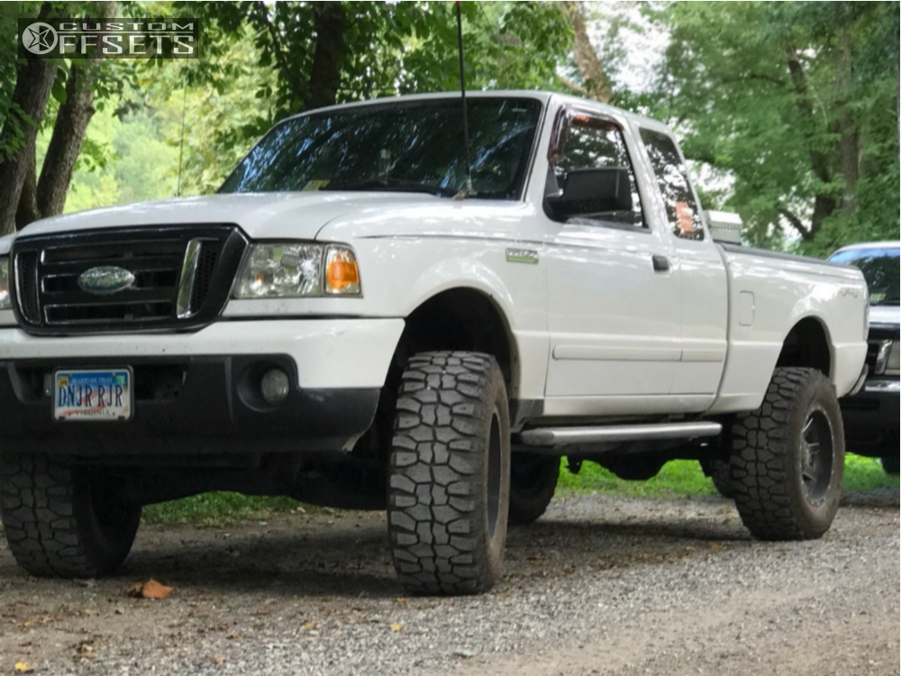 2008 Ford Ranger Fuel Maverick Fabtech Leveling Kit Body