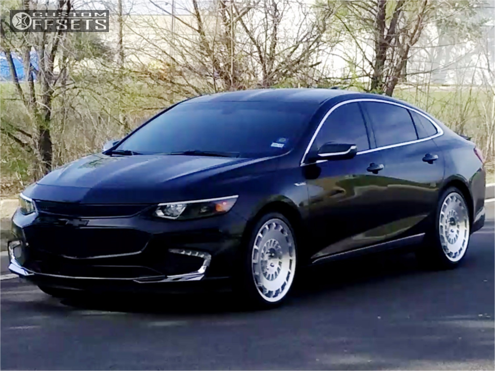 1 2016 Malibu Chevrolet Stock Rotiform Ccv Machined Accents