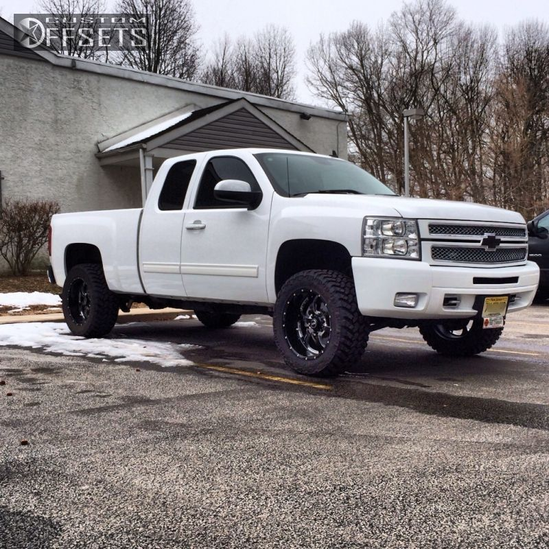 2012 chevrolet silverado 1500 bmf novakane rough country body lift 3in. Black Bedroom Furniture Sets. Home Design Ideas