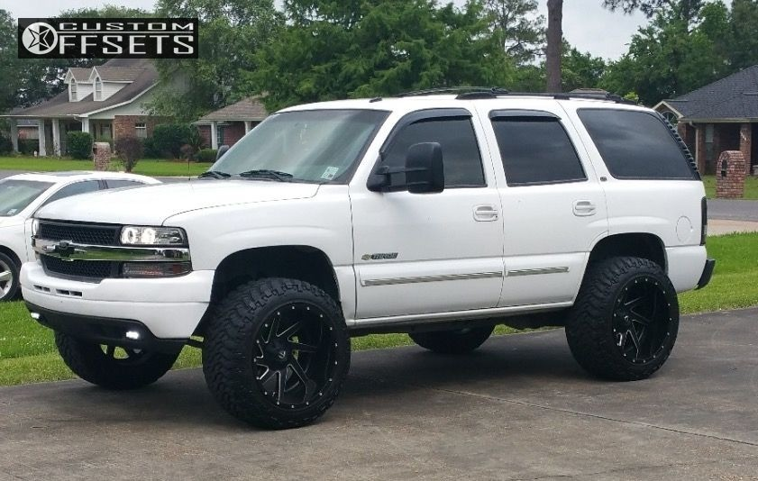2003 Chevrolet Tahoe Fuel Renegade Stock Stock Custom