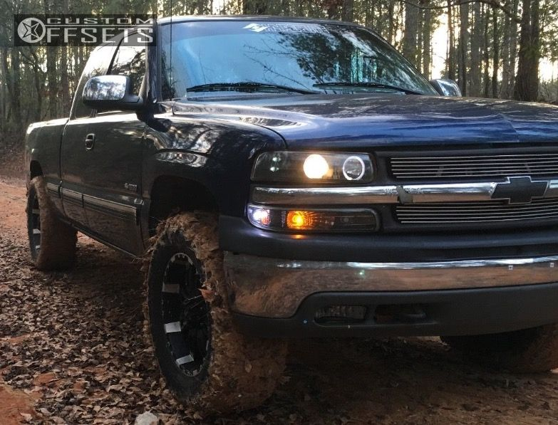 1 2000 Silverado 1500 Chevrolet Leveling Kit Incubus 005 Black Slightly Aggressive