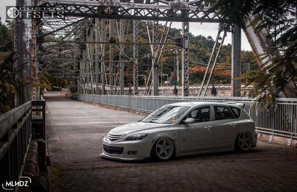 2007 Mazda 3 Aodhan Ah03 Air Lift Performance Air Suspension